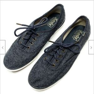 Keds Champion Wool Lace Up Tennis Shoes Sneakers
